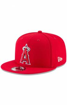 Los Angeles Angels Team Color Basic 9Fifty Snap-Back Hat