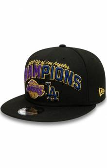 Los Angeles Co Champs 2020 9FIFTY Snap-Back - Black