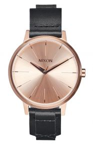 Kensington Leather Women's Watch - Rose Gold/Bridle