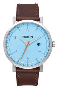 Nixon Clothing, Rollo Watch - Blue/Taupe
