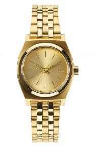 Small Time Teller Women's Watch - All Gold