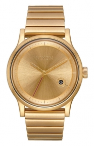 Nixon Clothing, Station Watch - All Gold