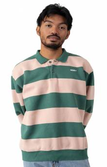 Ashmore L/S Polo - Green Multi