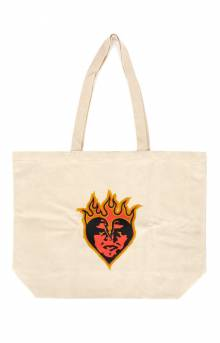 Be Mine Tote Bag - Natural