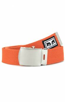 Big Boy Web Belt - Dusty Orange