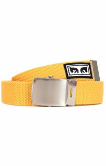 Big Boy Web Belt - Energy Yellow