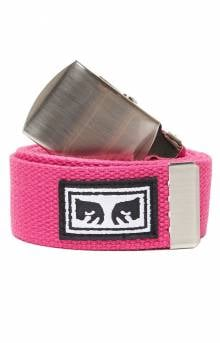 Big Boy Web Belt - Magenta