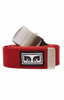 Big Boy Web Belt - Scarlet