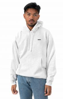 Bold Pullover Hoodie - Ash Grey