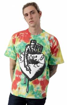 Can You Feel It 2 T-Shirt - Rainbow Blotch