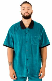 Catalina S/S Button-Up Box Shirt - Polo Teal