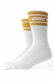 Cooper II Socks - White/Golden Palm