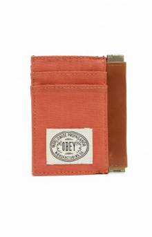 Detour ID Wallet - Red Tea