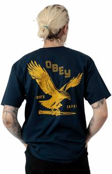 Eagle Switchblade T-Shirt - Navy