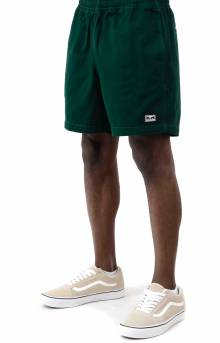 Easy Relaxed Twill Short - Green Dream