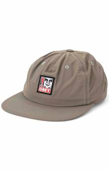 Exclamation Snap-Back Hat - Khaki