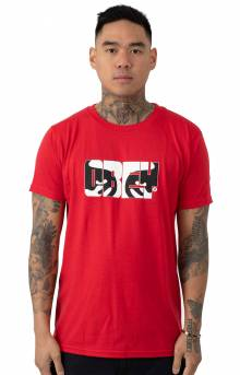 Eyes Of Obey T-Shirt - Red