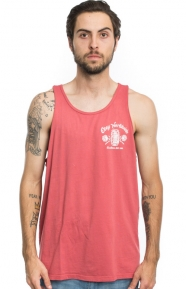 OBEY Clothing, Goodtimes Since 1989 Tank Top - Mineral Red