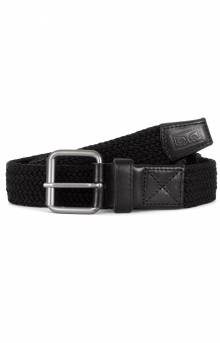 Icon Braided Elastic Belt - Black