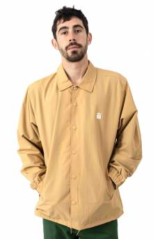 Icon Coaches Jacket - Almond
