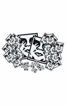 Icon Face Assorted Sticker Pack