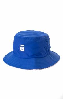 Icon Reversible Bucket Hat - Blue Multi