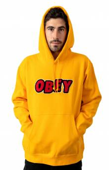 Jumble Obey Pullover Hoodie - Gold