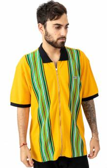 Kelly Classic Zip Polo - Energy Yellow Multi