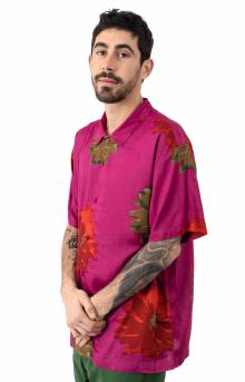 Lou Button-Up Shirt - Cassis Multi