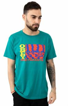 Mind Parasites T-Shirt - Teal