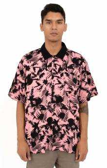 Nate S/S Button-Up Shirt - Pink Multi