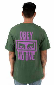 No One T-Shirt - Forest Green