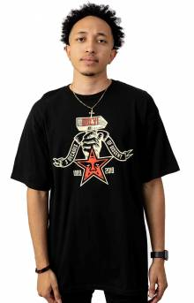 Obey 3 Decades Of Dissent T-Shirt - Black