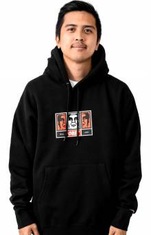 Obey 3 Faces 30 Years Pullover Hoodie - Black