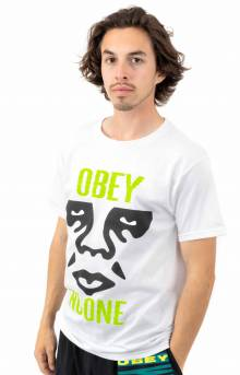 Obey Act Up T-Shirt - White