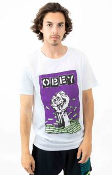 Obey Bust Out T-Shirt - White