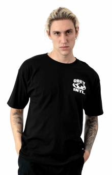 Obey Consume Repeat Intl. T-Shirt - Black
