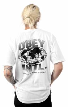 Obey Consume Repeat Intl. T-Shirt - White