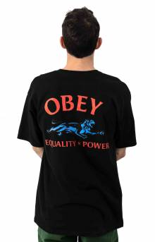 Obey Equality X Power T-Shirt - Black