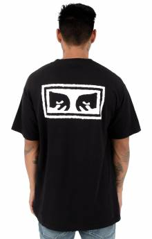 Obey Eyes 3 T-Shirt - Off Black