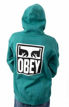 Obey Eyes Icon 2 Pullover Hoodie - Eucalyptus