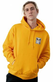 Obey Eyes Icon 2 Pullover Hoodie - Gold