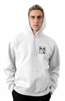 Obey Eyes Icon 2 Pullover Hoodie - Heather Ash