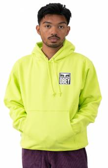 Obey Eyes Icon 2 Pullover Hoodie - Lime Punch
