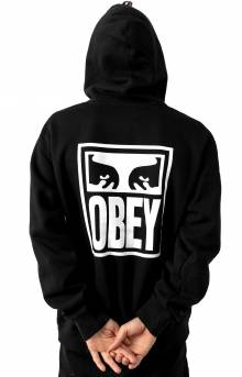 Obey Eyes Icon Pullover Hoodie - Black