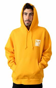 Obey Eyes Icon Pullover Hoodie - Gold