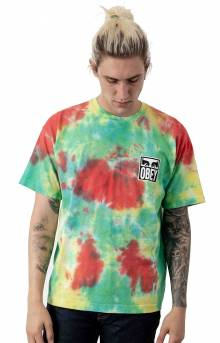 Obey Eyes Icon T-Shirt - Rainbow Blotch