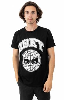 Obey Icon Planet T-Shirt - Black