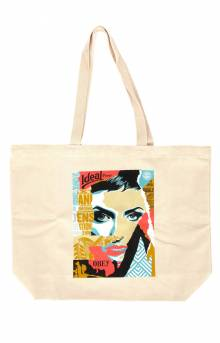 Obey Ideal Power Tote Bag - Natural