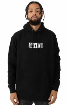 Obey Int. Icon Pullover Hoodie - Black